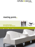 ROHDE & GRAHL meeting points Collection Kataloge