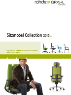 ROHDE & GRAHL Sitzmöbel Collection Kataloge