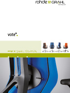 ROHDE & GRAHL vote® Stuhlserien